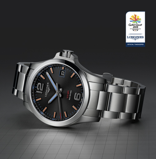 Longines Conquest V.H.P. Gold Coast 2018 Commonwealth Games