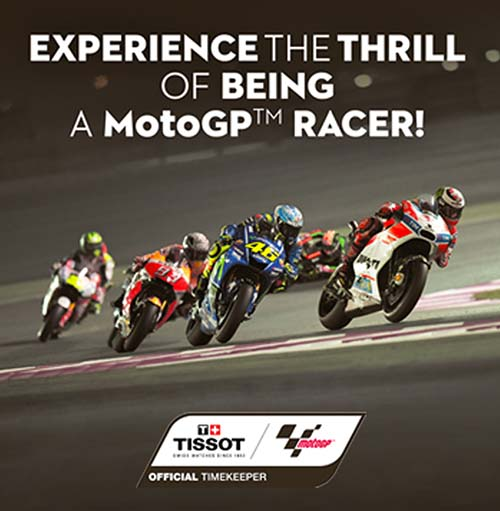 Tissot Sports World – It's time for a Pop-up Roadshow