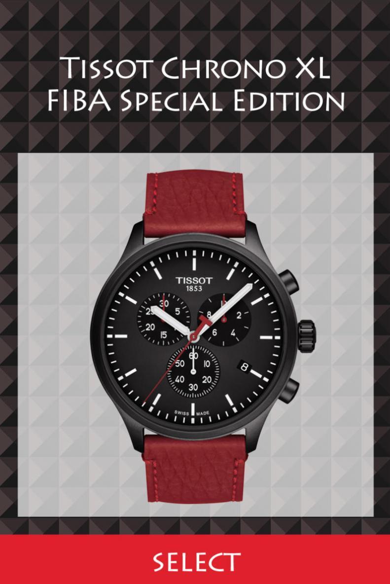 Tissot Chrono XL FIBA